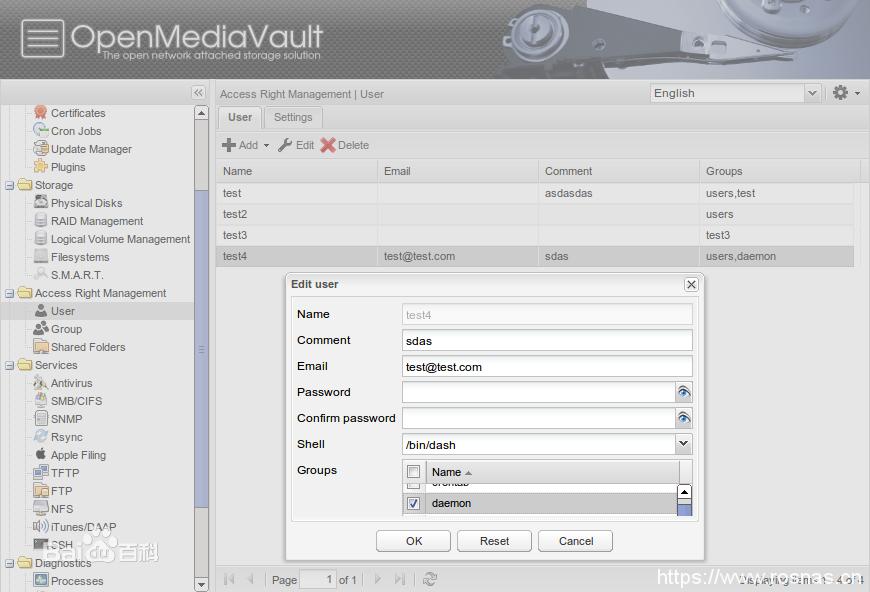 OpenMediaVault 介绍-七界传说丨关注分享网络、硬件、维护、游戏、主题、虚拟化、软件分享!