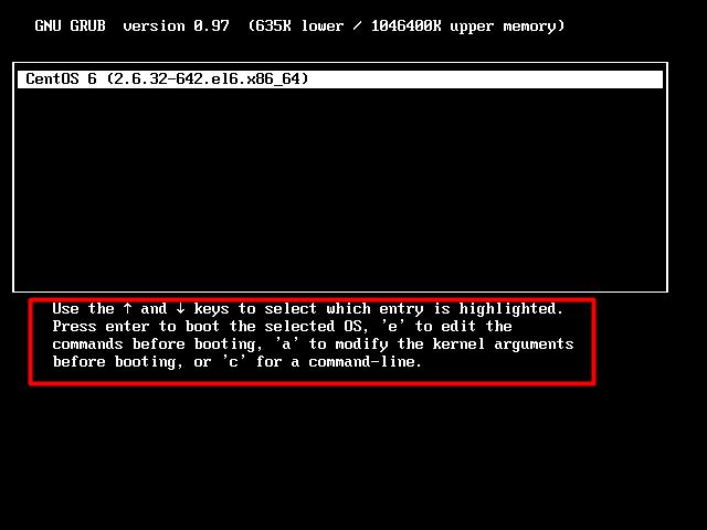 Centos6.8 遗忘密码可以进入单用户模式修改密码-七界传说丨关注分享网络、硬件、维护、游戏、主题、虚拟化、软件分享!